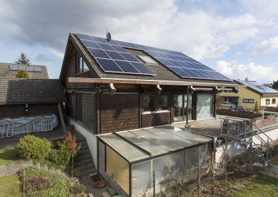 Photovoltaikanlage mit Westausrichtung und Wärmepumpe in Hechingen