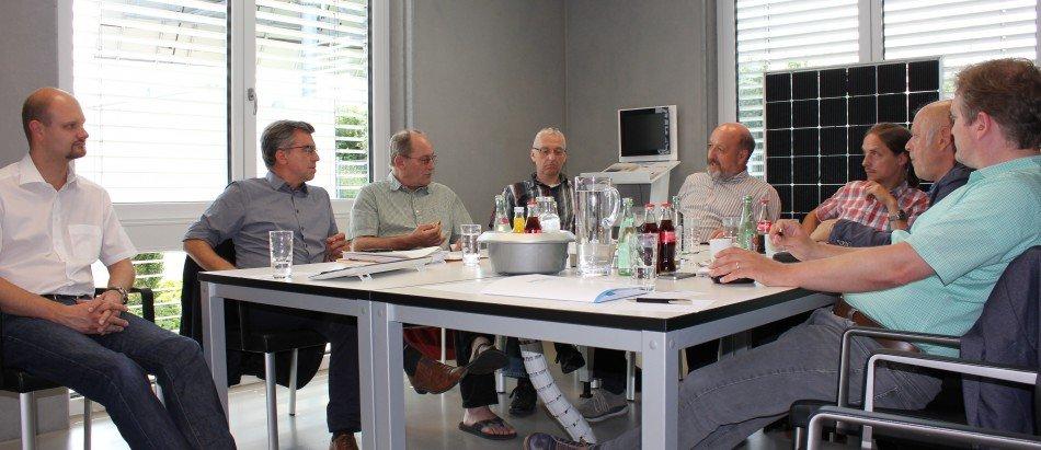 Energieagentur Zollernalb trifft sich im Techmaster-Beratungszentrum Hechingen