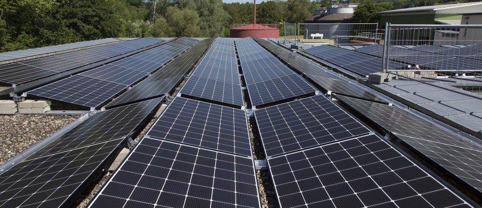 Kläranlage Hechingen Photovoltaikanlage