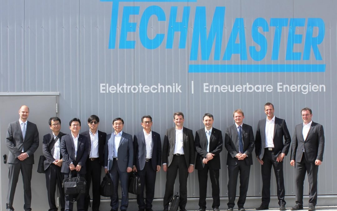 TECHMASTER und LG Solar sorgen für Photovoltaikanlagen der Spitzenklasse
