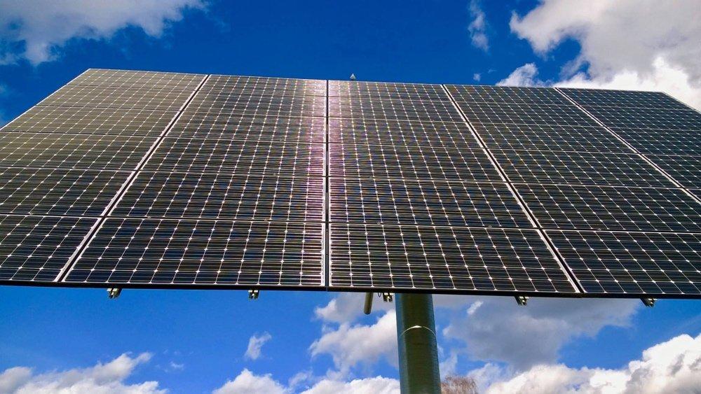 Solar-Tracker-Anlage Hechingen