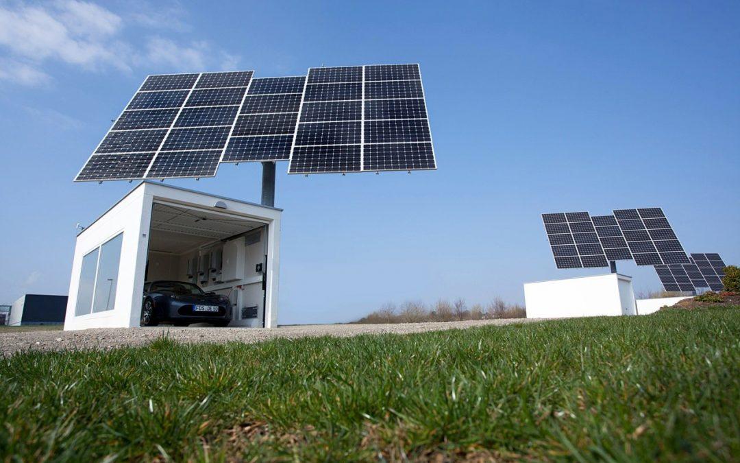 Hechingen: Solartracker auf Hallen versprechen höchste Energieausbeute