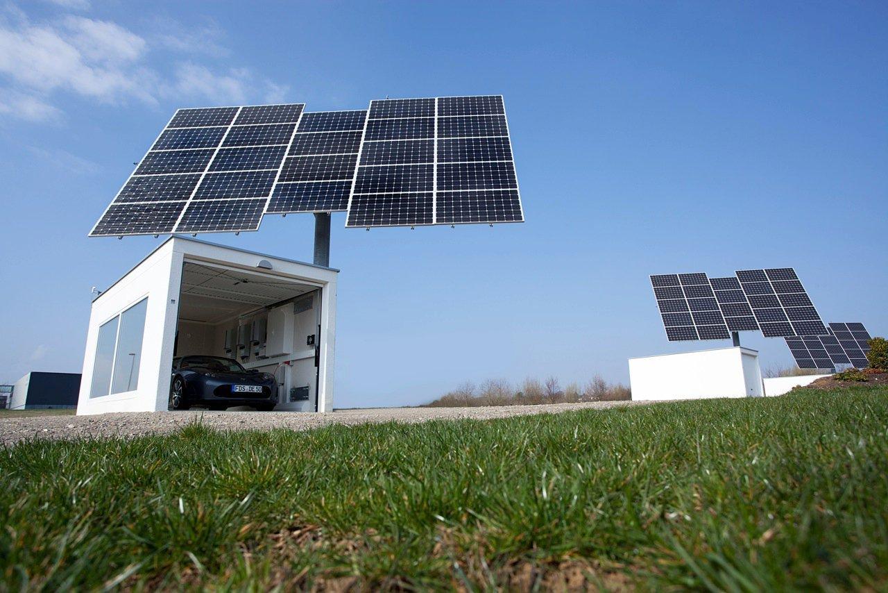 Solar-Tracker-Anlagen