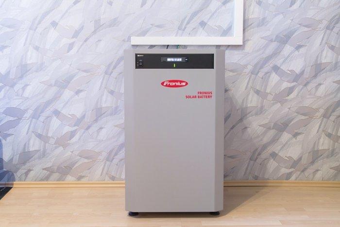 Stromspeicher Fronius Hybrid mit 6,0 kWh nutzbarer Kapazität