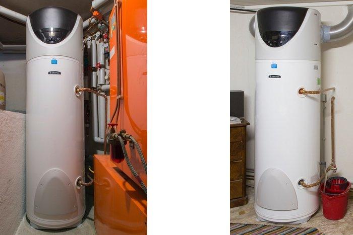 Elco Nuos Wärmepumpen für Warmwasserbereitung und optimale Nutzung des Solarstroms