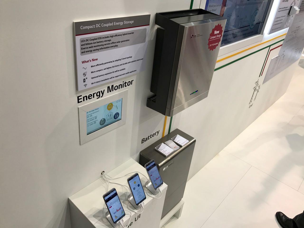 LG ESS 2017 Energiespeicher auf der Intersolar 2017