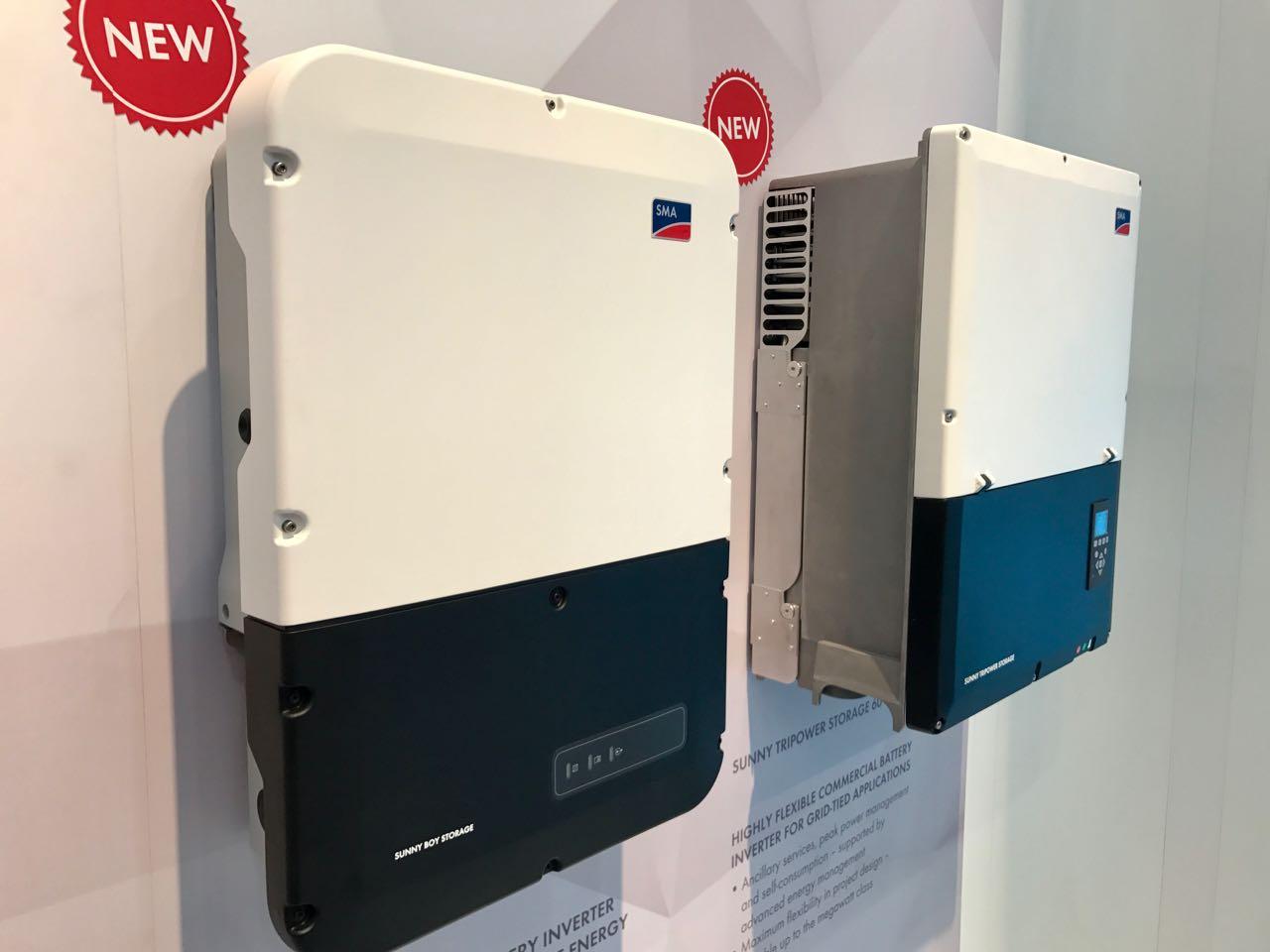 Batteriewechselrichter SMA Sunny Boy Storage 6.0 auf der Intersolar 2017