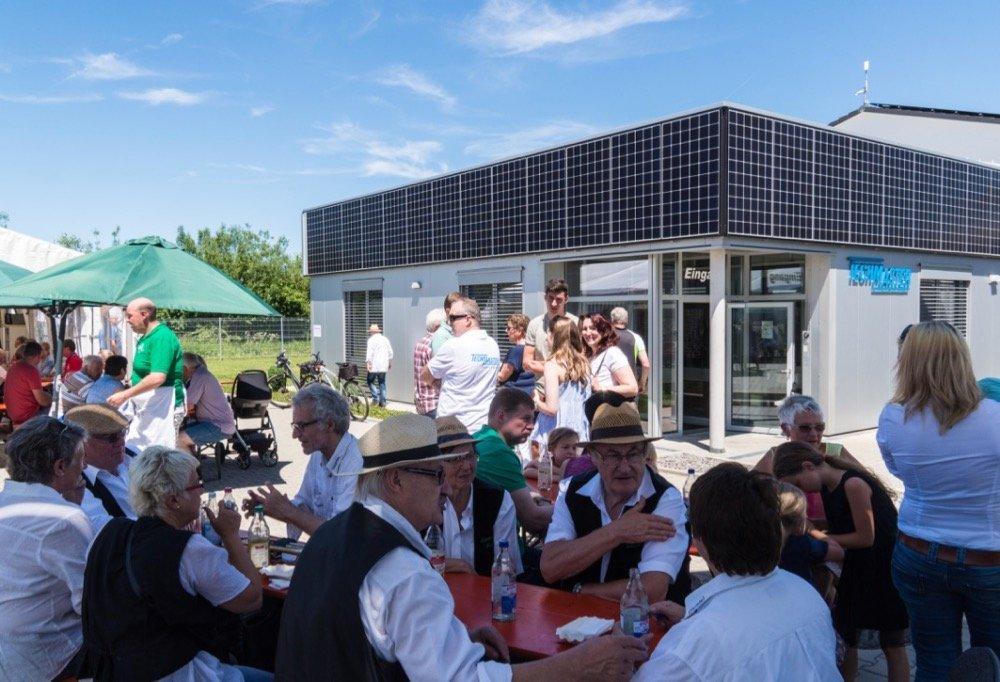 Das Beratungszentrum für Erneuerbare Energien in Hechingen.