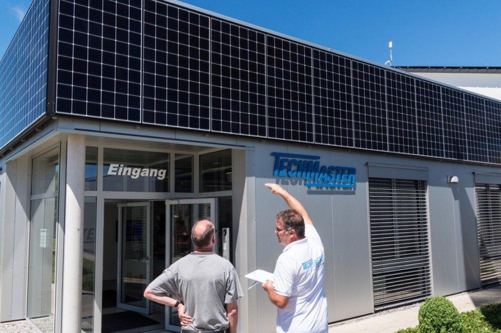 Das Beratungszentrum für Erneuerbare Energien in Hechingen von TECHMASTER