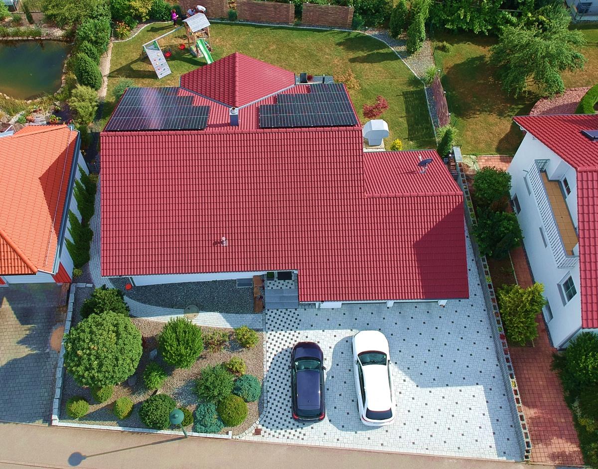 Einfamilienhaus mit Photovoltaikanlage in Hechingen