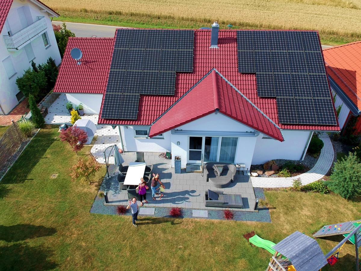 Photovoltaikanlage in Hechingen   Referenz Ulmschneider