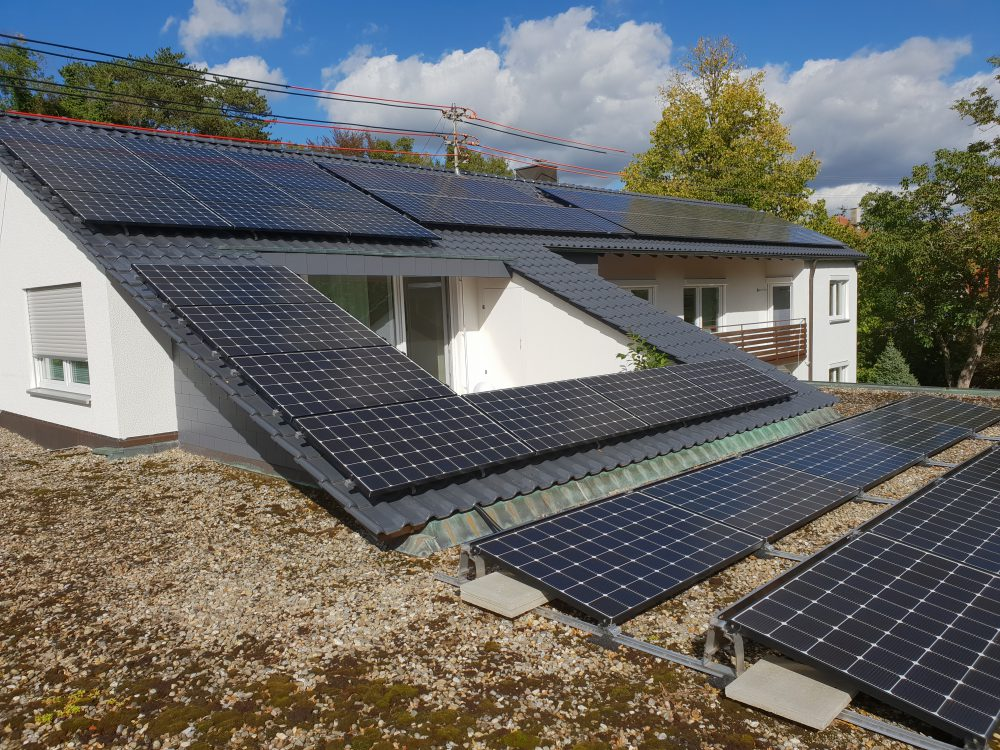 Photovoltaikanlage in Hechingen
