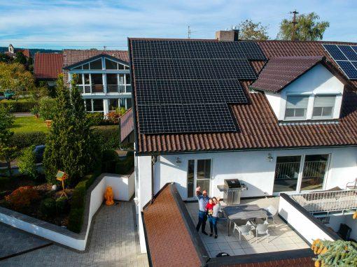 Photovoltaikanlage mit Stromspeicher in Horb