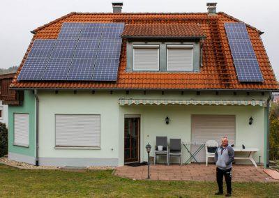 Photovoltaikanlage mit BYD-Stromspeicher in Hechingen