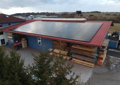 Photovoltaikanlage in Hechingen | Zimmerei Tietz