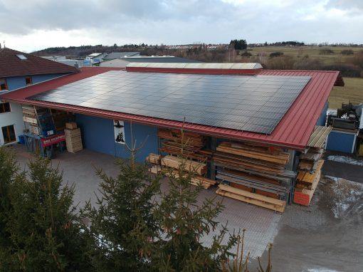 Photovoltaikanlage in Hechingen   Zimmerei Tietz