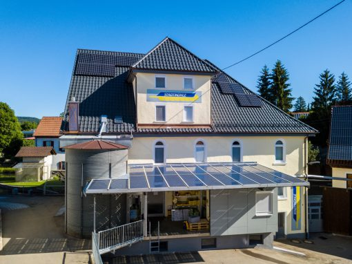 Photovoltaikanlage in Gammertingen | Stadtmühle