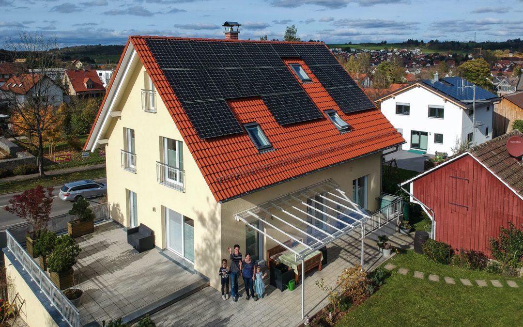 TECHMASTER-Photovoltaikanlage