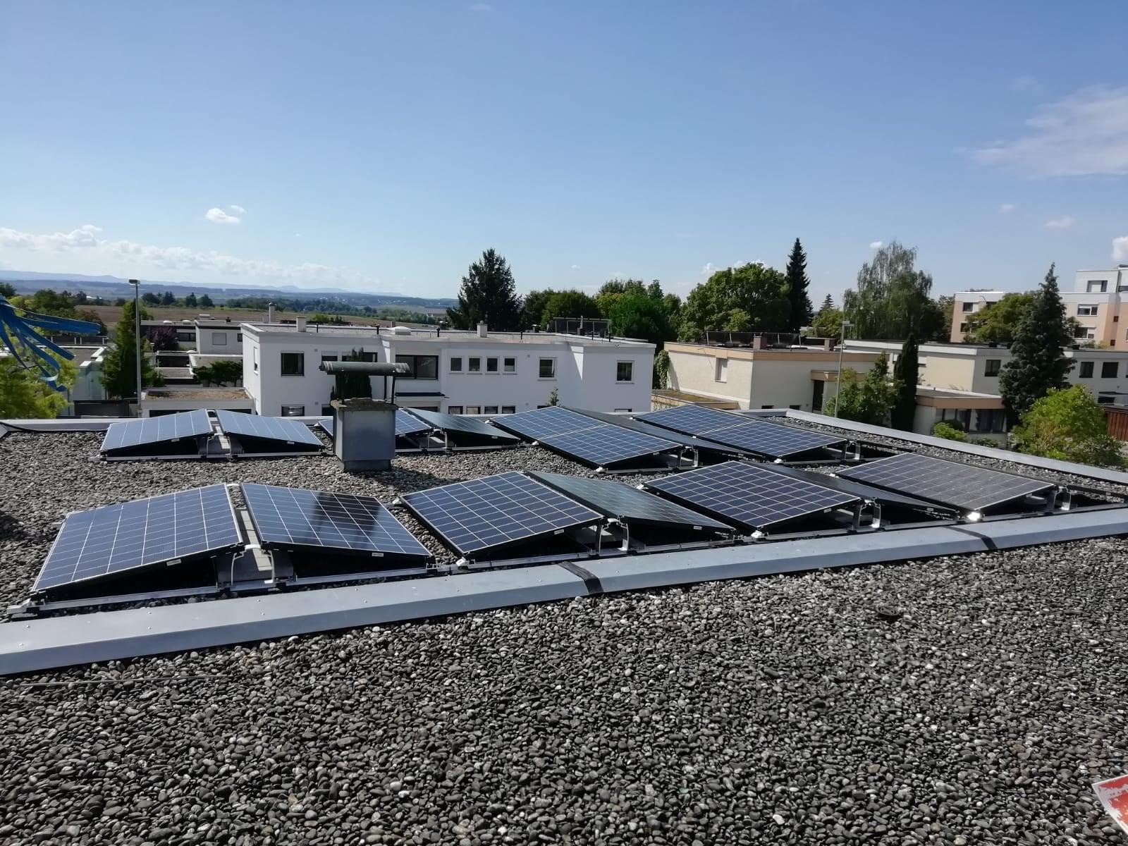 Photovoltaikanlage auf Reihenhaus in Herrenberg
