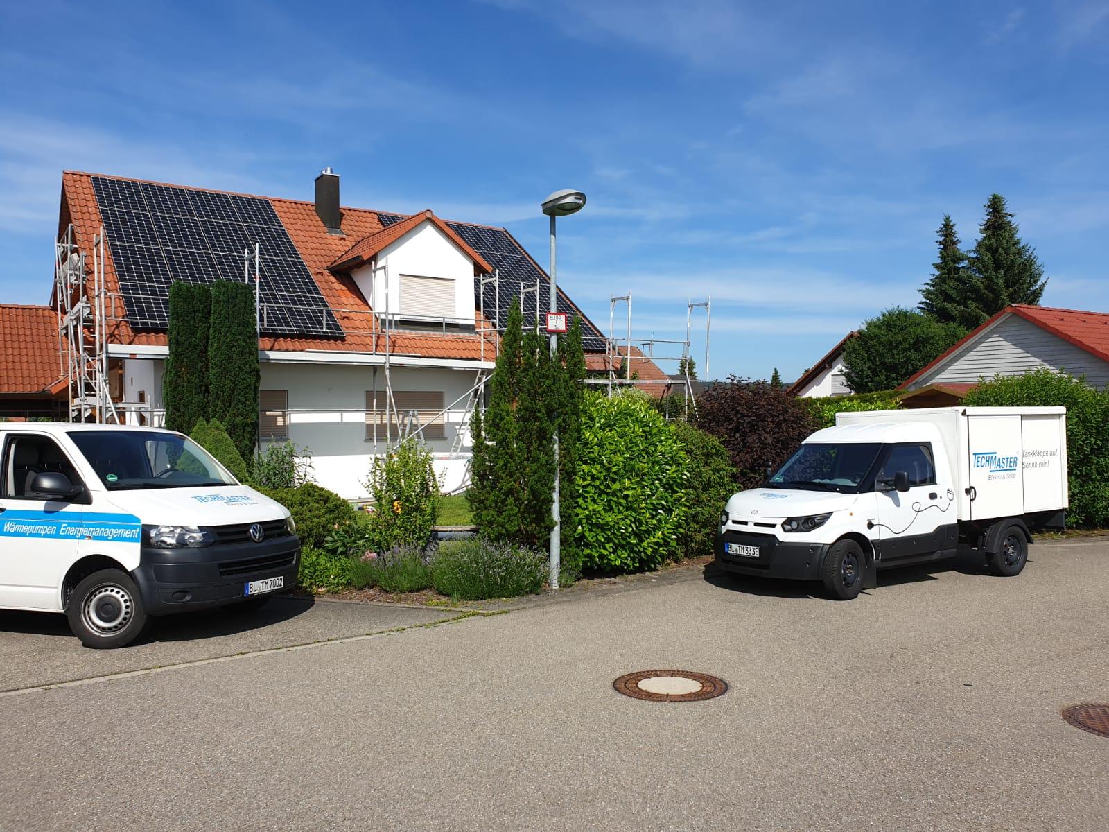 TECHMASTER Photovoltaikanlage Höfendorf