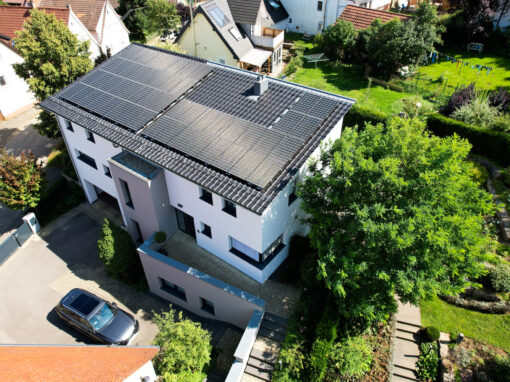 Photovoltaikanlage in Dußlingen